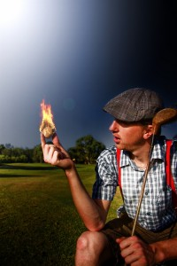 hot golfer